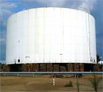 31000m³ sweet water  and fire fighting storage tank in Bandar Abbas Oil Refining Company